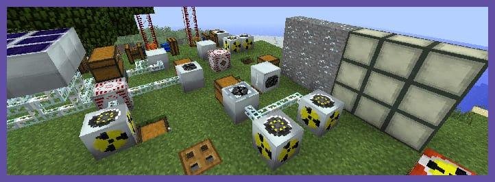 Различные блоки из IC2
