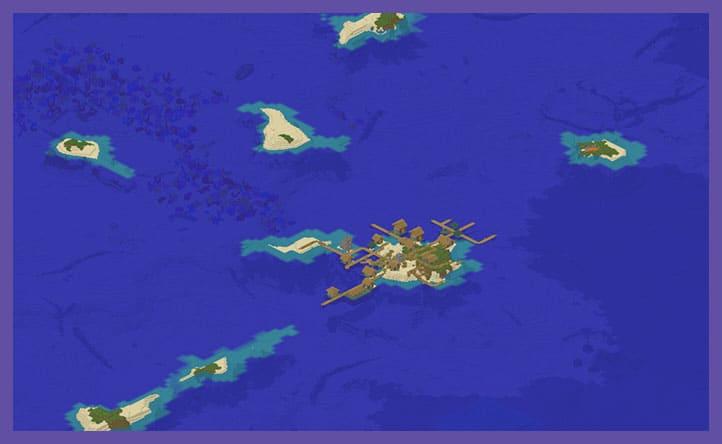 Сид Деревня на острове
