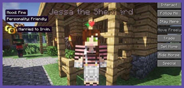 Мод Minecraft Comes Alive