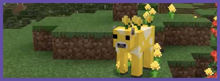 Моб Лютиковая корова