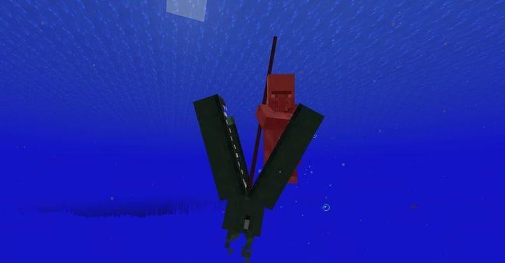 Мод Ocean Depths Monster