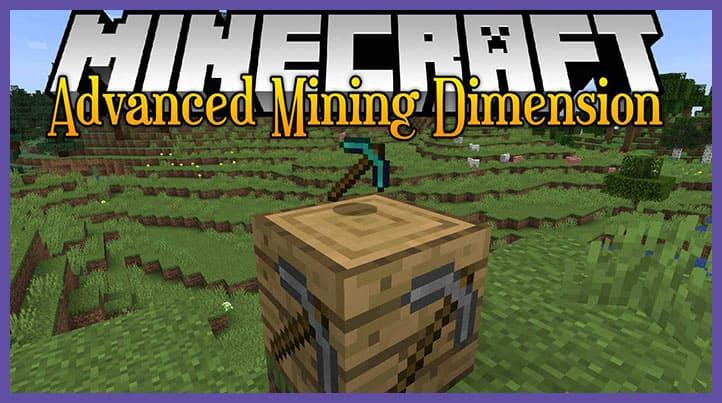Мод Advanced Mining Dimension