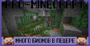 Мод Cave Biomes