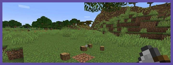 Mod falling tree