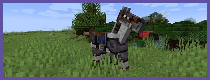 Мод Netherite Horse Armor