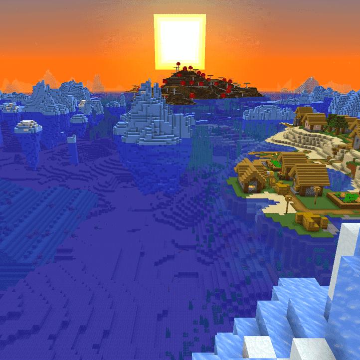 Сид Ледяная Деревня + Подводный дворец