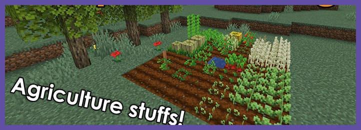Simple Farming Мод