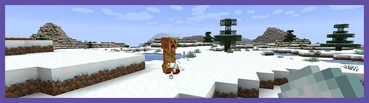 Мод Snowballs Freeze Mobs