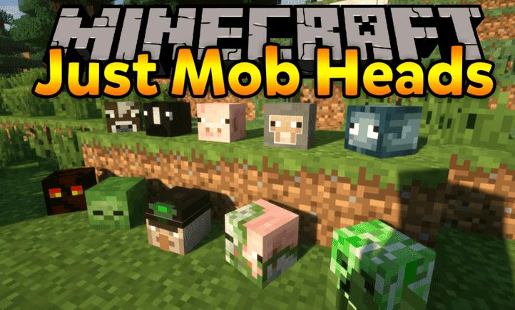 Мод Just Mob Heads