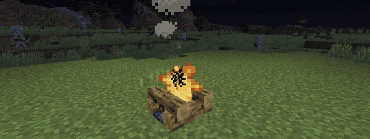 Мод No Hostiles Around Campfire
